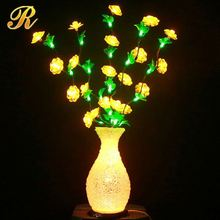 Hot sale wedding decoration light up artificial branches