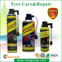 Tyre & Tire Puncture Leak Repair Sealer and Inflator 400ml (Aerosol Type)