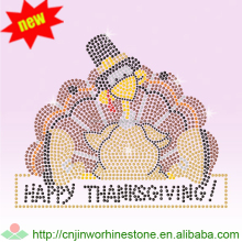 Thanksgiving turky for thanksgiving rhinestone heat transfers thanksgiving (7)