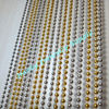 Mixed Colored Ball Chain Beaded Sheer Curtain