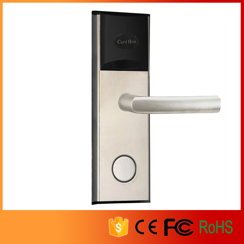 Electric Hotel lock Cheaper RF card door lock with energy saver switch