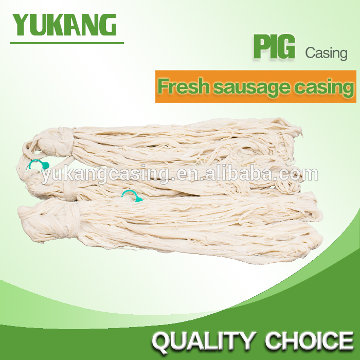 Best quality seller sausage natural hog casings,beef casing for sausage