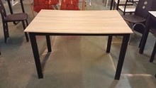 wooden top dining table from China
