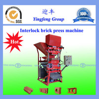 ECO2700 interlocking block making machine with ISO certificated polular in Asia