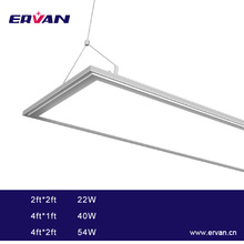 Ervan LED panel lighting 120lm/W high lumens casio g-shock solar panel led panel light