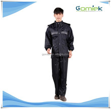 GMK-188 Army Raincoat Woodland Jacket Army Rain Suits with polyester pongee material