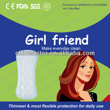 Thinnest most flexible protection everyday clean incredibly thin daily pant liners