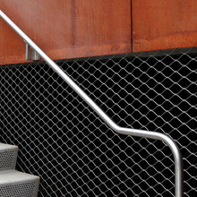 Flexible diamond mesh fence/wire fencing