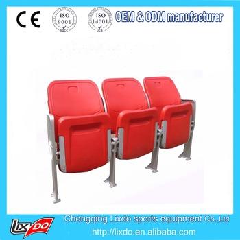 Best Quality High Back Hdpe Plastic Stadium Seats Fold Up Seats ...