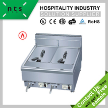 2 tank electric deep fryer (2 baskets) , double commercial chicken fryer frying machine