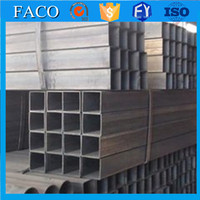 erw steel tubes hollow steel profile fiberglass square tube