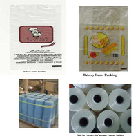 Bakery food packing rolls