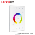 DMX512 RF Wireless WIFI distant control Remote control RGBW Touch Panel compatible suitable for all style wall boxes