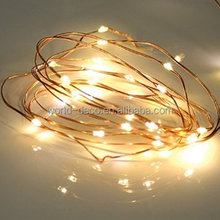 3V micro string lights battery operated copper wire fairy light waterproof led mini copper wire string lights