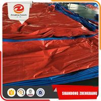Several Years Experience Original Factory Quality Double Color Dual Dark Blue Tarpaulin