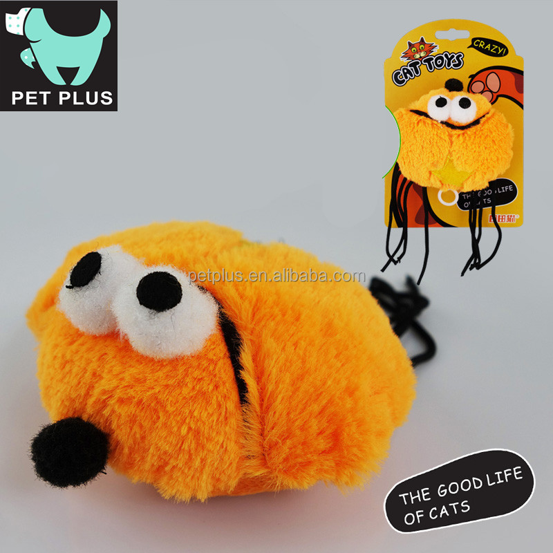 Funny motion-activated Dandelion Mechanical shock pet cat dog plush toys