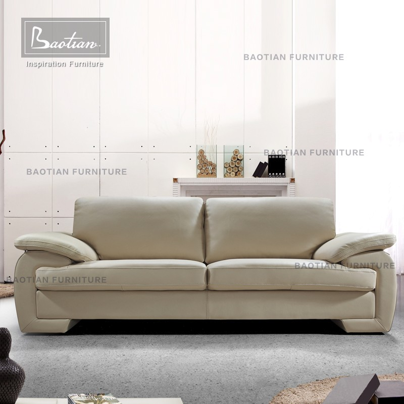 Heated sofa model, modern sofa living room soft line leather sofas for home
