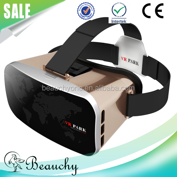Colorful vr box 3d glasses for blue film video open sex video , 3d vr glasses virtual reality with VR remote control