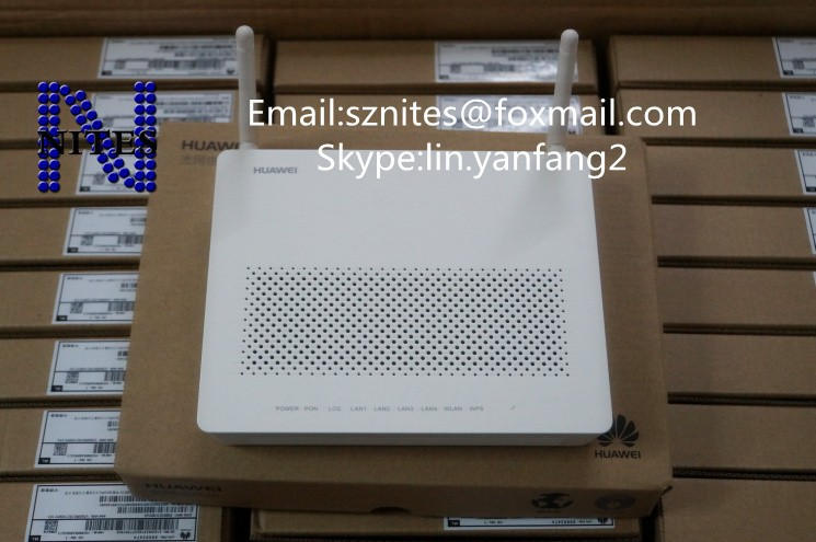 Huawei Echolife HG8345R wireless GPON Terminal ONU, 4 ethernet + 2 voice ports, SIP & H.248 double protocol, English version