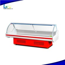 Split Type Service Counter Oem Available Meat Display Chiller