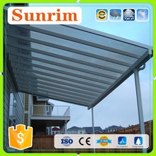 clear polycarbonate high quality sun shades canopy bracket