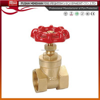 "1/2 "" Inch Threaded Brass Gate Valve,shut Off Valve"