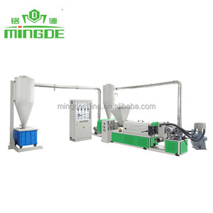 MD-R80 air cooling Plastic Recycling Machine price from Mingde China