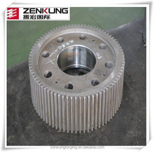 Customized forged spur gear bevel gear large warm gears metal forged gears forging ring gear warm gears forged gear axis
