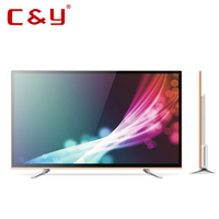 2016 factory directly sale double glass 55 inch Full HD Led TV