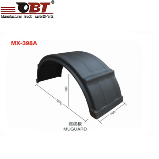fenders for heavy truck and trailers