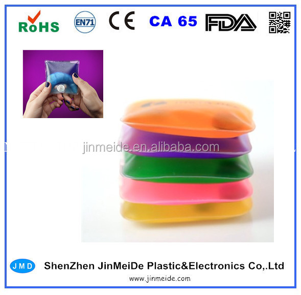 Custom Logo Gel Heat Pad Reusable / Click Gel Heat Packs in Advertising Promotion