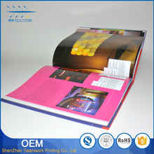 promotional good looking softcover design custom book printing