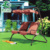 European Style Leisure Design Two Seat Adult Hammock Swing Chair For The Dacha