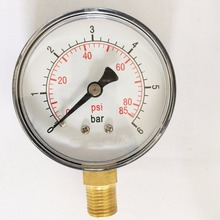 Plastic Case Type Pressure Gauge Manometer