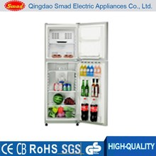 HD-296 high quality double door no frost refrigerator ckd