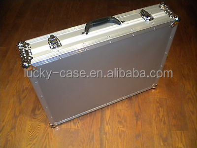 New Aluminum 6 Bay Guitar Rack Folding Stand Case
