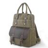 Multifunction canvas mens backpacks, camping backpack, hiking backpack