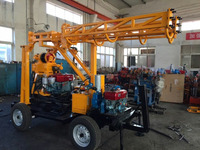 China Supplier of XY-44B diesel engine diamond bit soil testing core sample drilling rig