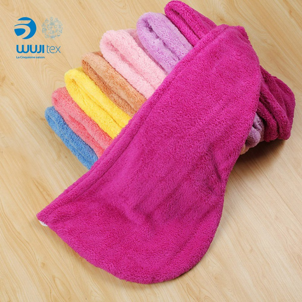 coral fleece Bath Head Wrap Turban Microfiber Hair Dry Towel Microfiber Magic Hair Drying Shower Hat