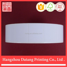 White Blank Direct Thermal Label for All Zebra Type Printer
