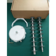 MMDS receiving antenna with wave filter