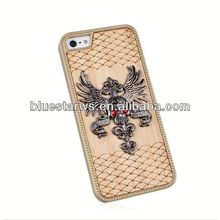 Factory Supply Popular for iphne 5 gel case wood grain case for iphone 5