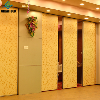 Modern Design Style Cheap Folding Partition Wall