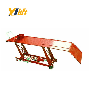 Yi-Lift electric movable scissor motorcycle lift table