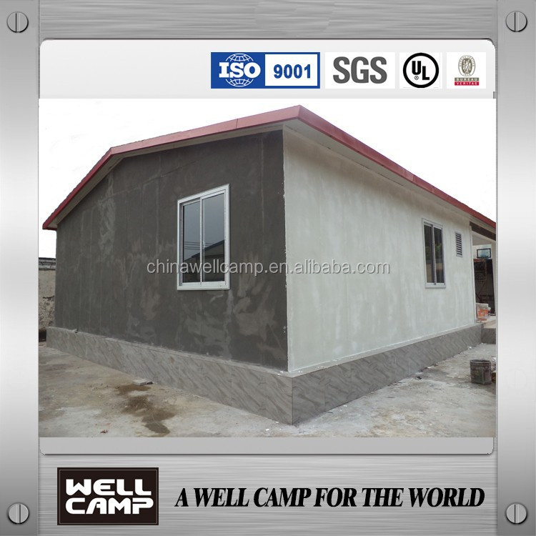 Typhoon resistant heat inslulation steel villa prefab villa holiday villa