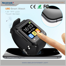 Wholesale Price Cheap 1.5 Inch U80 Smart Watch Andriod Bluetooth With Touch Screen