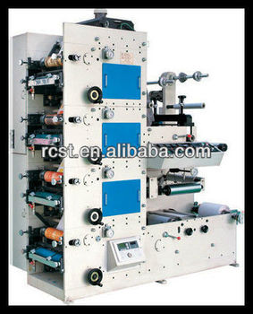 Label Printing Machine/High speed 4-6 COLOR FLEXO GRAPHIC PRINTING MACHINE Manufacturer