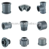 PVC DIN FITTINGS PIPES FOR WATER SUPPLY