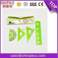 Best price drafting supplies stationery ruler set