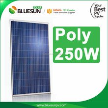 JA cell A grade poly 250w 30v TUV certificate wholesale solar panels